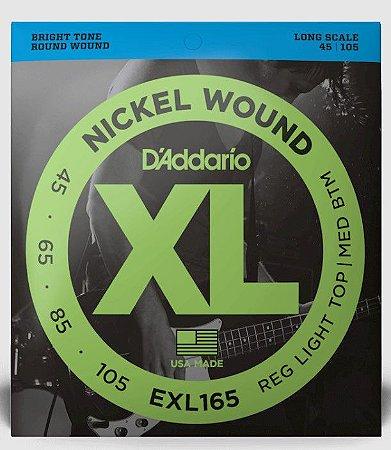 Encordoamento p/ Contra Baixo 6 cordas D'addário XL 032 EXL165-6