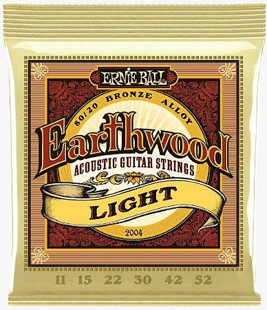 Encordoamento p/ Violão Ernie Ball Aço 011 Earthwood 2004