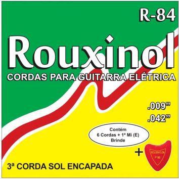 Encordoamento para Guitarra R-84 - Rouxinol