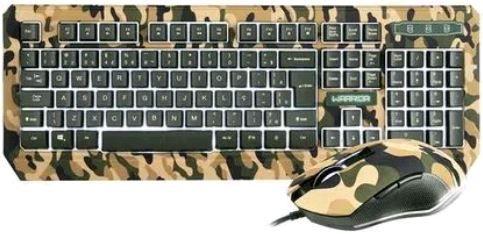 Kit Teclado E Mouse Gamer Multilaser Warrior Kyler USB TC249