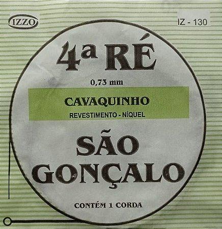 Corda P/ Cavaquinho 4ª Ré IZ 130