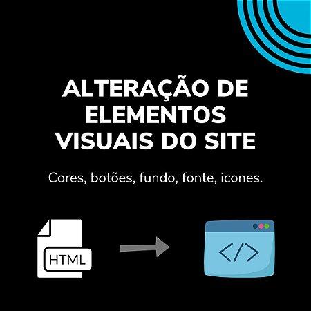 HTML e CSS: Alteração de elementos visuais da Loja Virtual