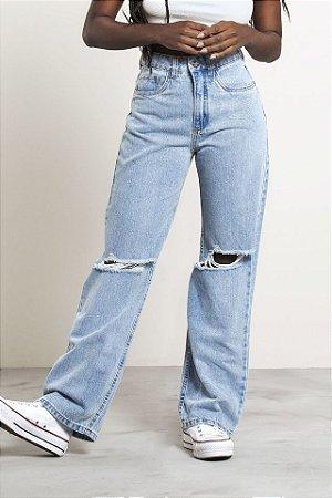 Calça Jeans Pantalona Andreas