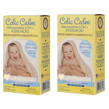 Colic Calm Solução para Cólicas em Bebês Frasco 59ml 2Uni