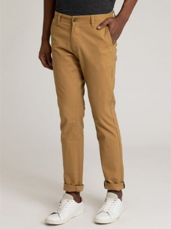 CALÇA CHINO STRETCH SLIM TON B