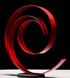 escultura decorativa rubi
