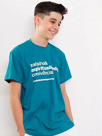Camiseta Silk Trab/Esp/Convi