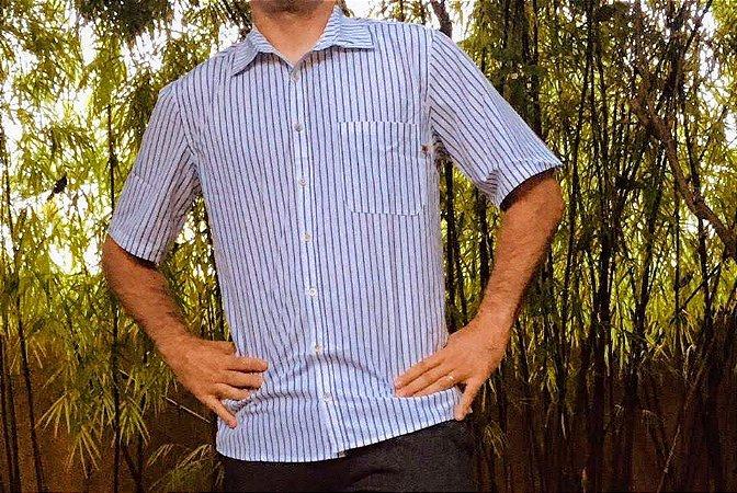 Camisa Tecido Masculina MG Curta