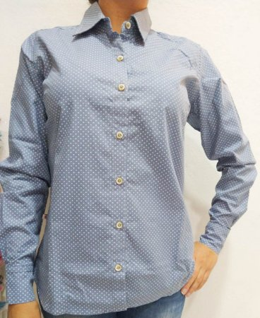 Camisa de Tecido MG Longa Feminina