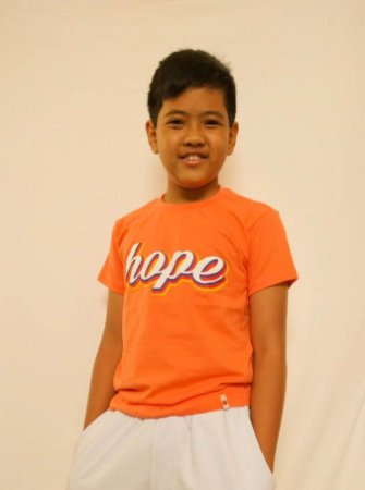 Camiseta infantil Hope Colors