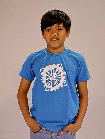 Camiseta infantil Sol Quadrado