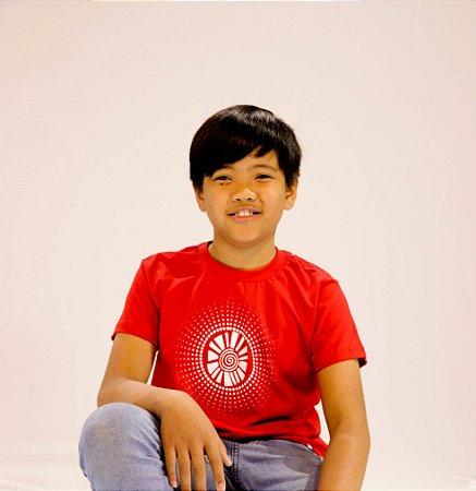 Camiseta Infantil Sol Bolinha