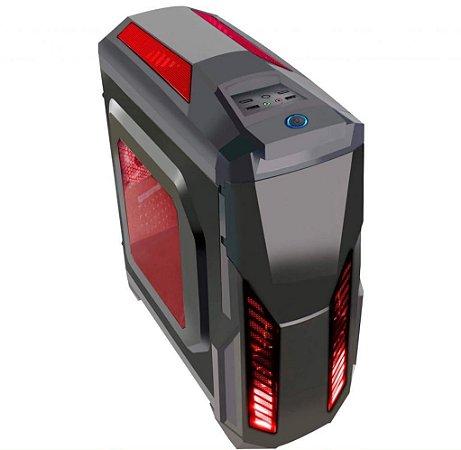 COMPUTADOR GAMER BRONZE, I3 9100F, RX 550 4GB, 8GB, SSD 240GB