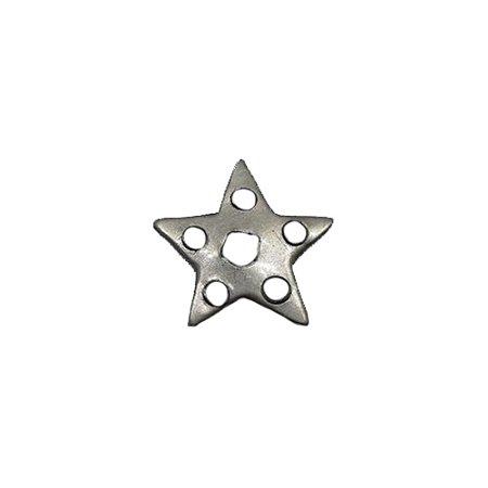 Ponta de Aço Estrela de 5 Pontas  P