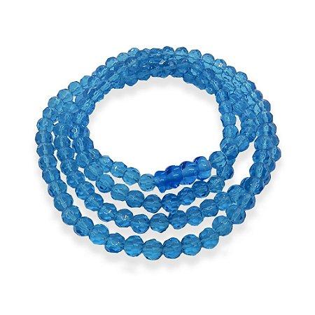 Guia de Oxum Azul Cristal 8mm