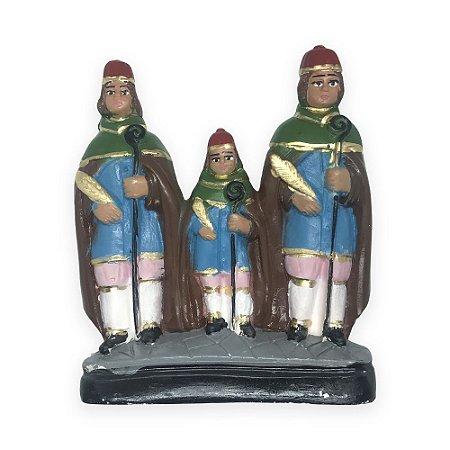 Imagem São Cosme,Damião e Doum 17cm