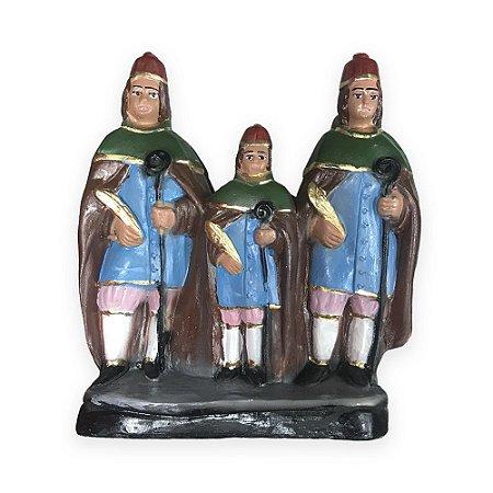 Imagem São Cosme,Damião e Doum 26cm