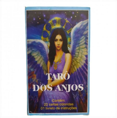 Baralho Tarô Dos Anjos