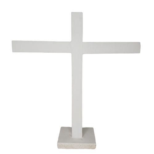 Cruzeiro Branco de Preto Velho 24cm