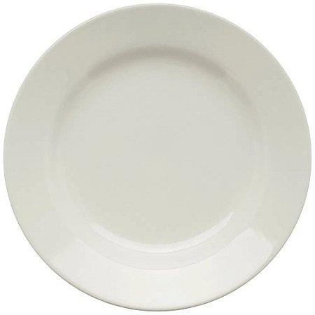 Prato de Louça Branco 24cm