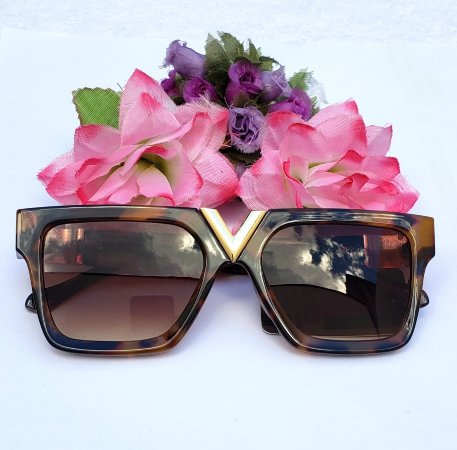 Óculos de Sol Quadrangular Onçinha