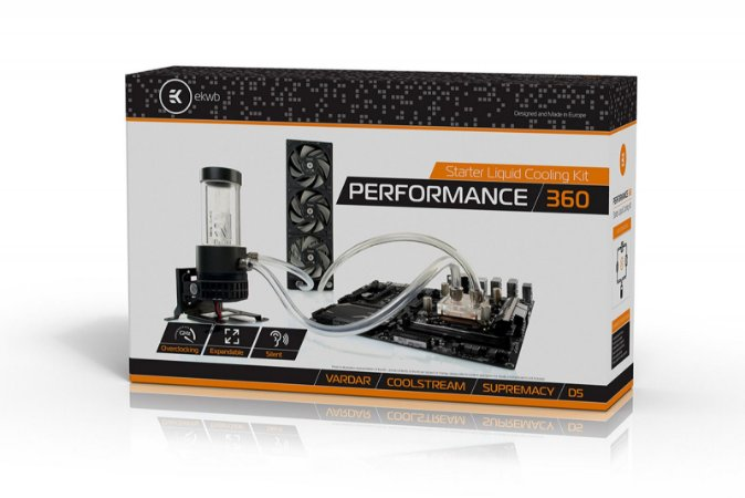 EKWB Kit para resfriamento CPU P360