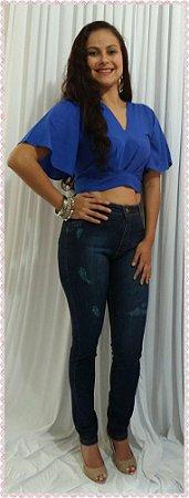 Cropped Azul (Gazy)