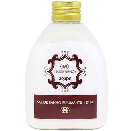 Sal de banho espumante Madressenza ágape 215 g