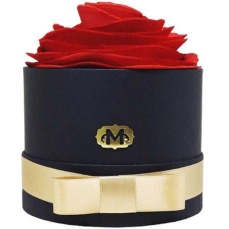 Flor de madeira para difusão de aromas Madressenza vermelha
