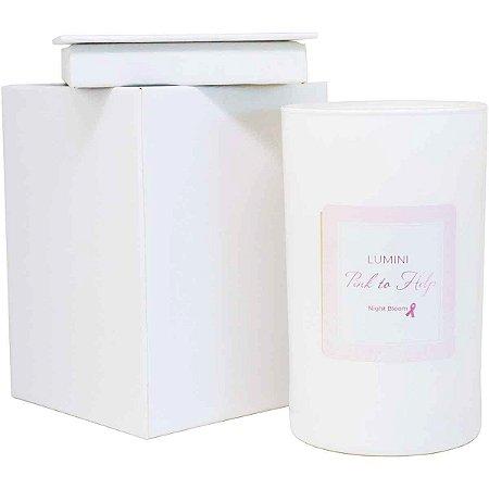 Vela aromática Wanna dama da noite Pink to Help 140 g