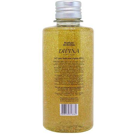 Refil sabonete líquido Boutique de Aromas divina glitter 250 ml