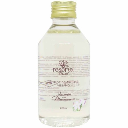 Refil difusor de aromas Reserva Brasil jasmim com murumuru 260 ml