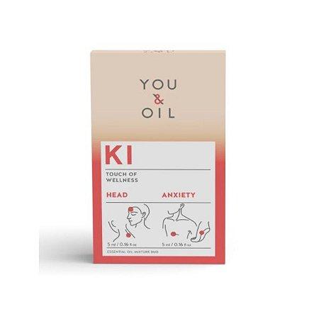 Kit óleo essencial You & Oil KI ansiedade e dor de cabeça