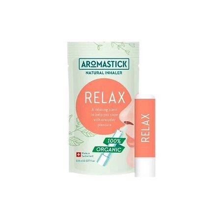Inalador Nasal Aromastick Orgânico & Natural Relaxante - Relax