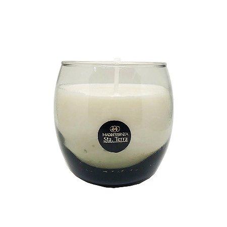 Vela perfumada Madressenza em vidro boemia 220 g