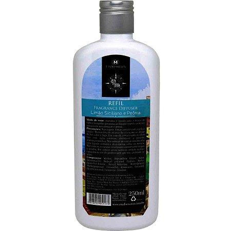 Refil difusor de aromas Madressenza limão siciliano e peônia 250 ml
