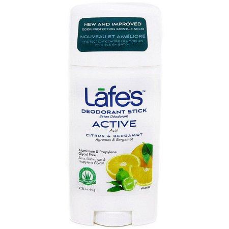 Desodorante twist stick Lafe's active 64 g