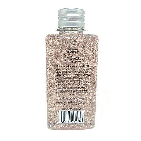 Refil sabonete líquido Boutique de Aromas flowers flor de cerejeira 250 ml