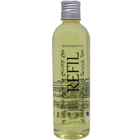 Refil sabonete líquido Dani Fernandes folhas verdes 250 ml
