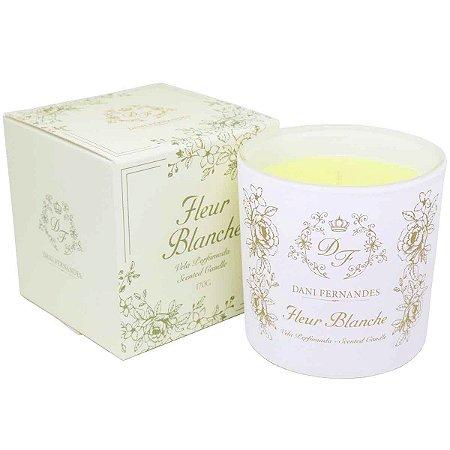 Vela perfumada Dani Fernandes fleur blanche 170 g