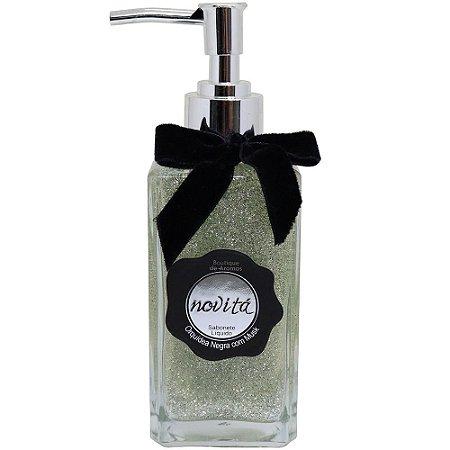Sabonete líquido Boutique de Aromas orquídea negra com musk novitá 250 ml