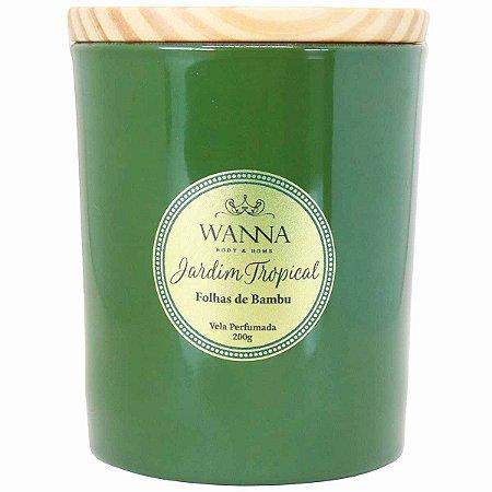 Vela perfumada Wanna Folhas de Bambu 200 g