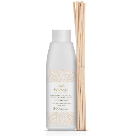 Refil difusor de aromas Wanna chá branco 260 ml