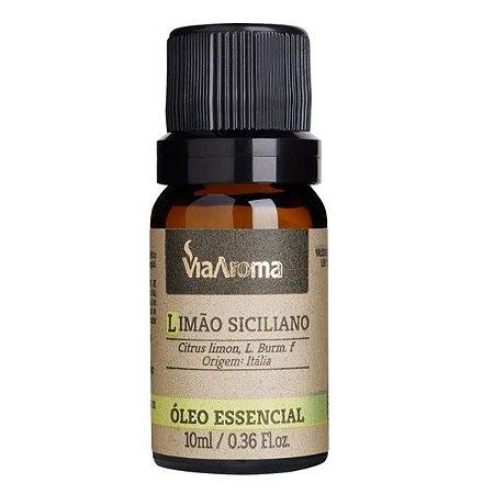 Óleo essencial Via Aroma limão siciliano 10 ml