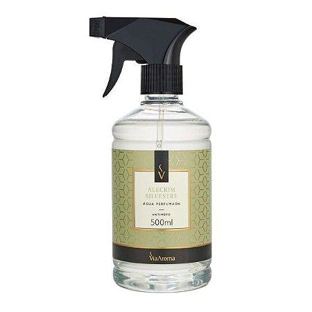 Água perfumada para tecidos Via Aroma alecrim silvestre 500 ml