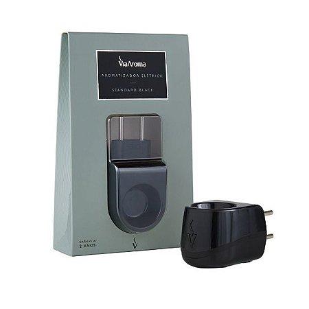 Aromatizador elétrico Standart Via Aroma preto bivolt