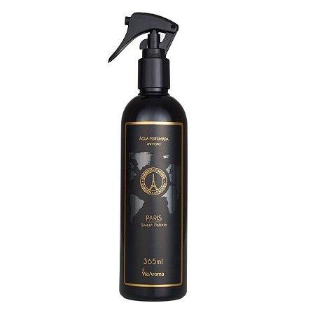 Água perfumada para tecidos Via Aroma Paris sweet peônia 365 ml
