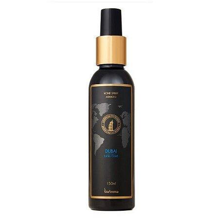 Home Spray Via Aroma Dubai lírio gold 150 ml