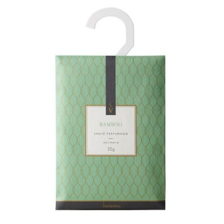 Sachê perfumado Via Aroma bamboo 25 g
