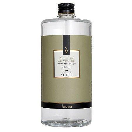 Refil água perfumada Via Aroma alecrim silvestre 1 L